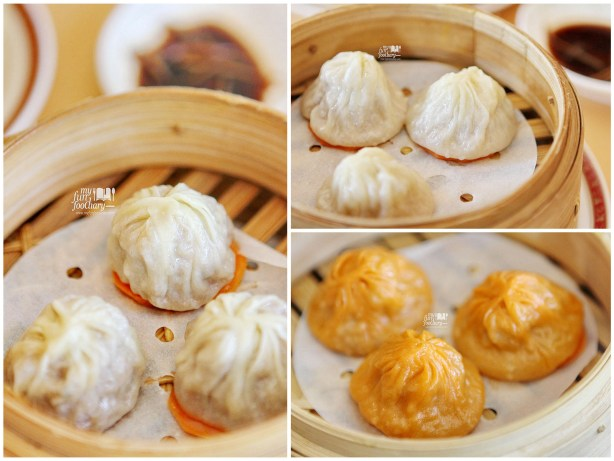 Beef XO Crab Meat and Pork Xiao Long Bao Shang Palace at Shangri-La Hotel Jakarta