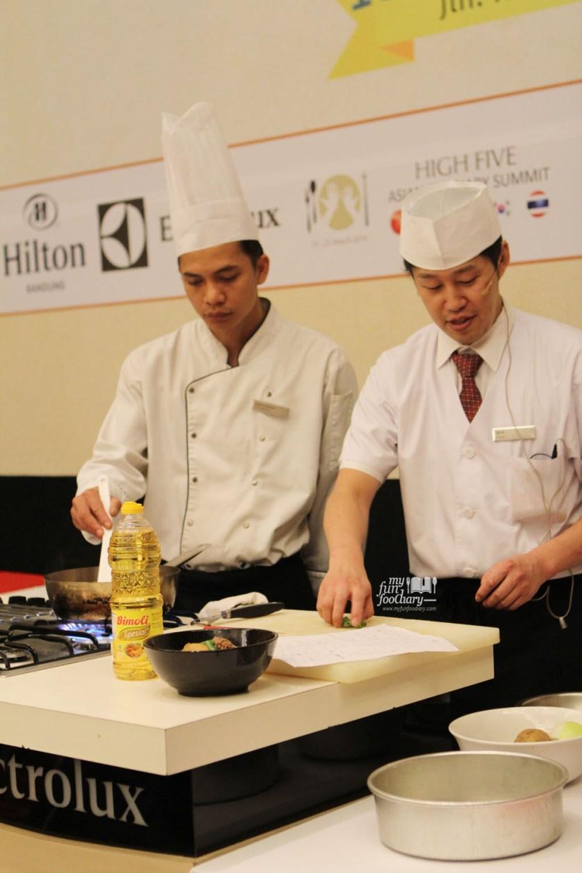 Chef Jin Suzuki at Hilton Bandung by Myfunfoodiary