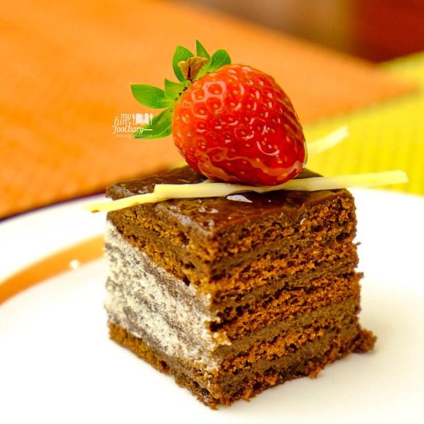 Chocolate Cake at Bogor Cafe Hotel Borobudur by Myfunfoodiary