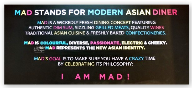I am MAD Modern Asian Diner Jakarta by Myfunfoodiary