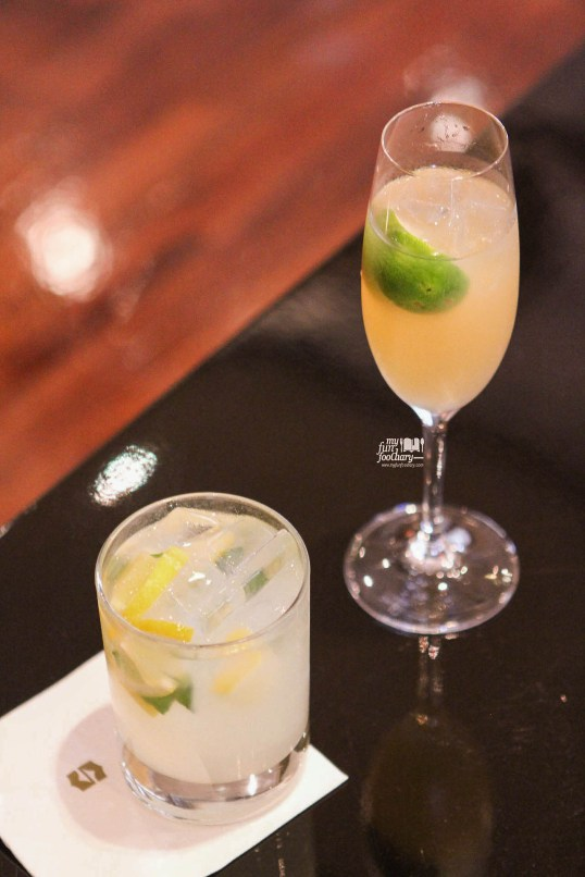 Italian Lemonade and Virgin Mojito at Rosso Shangri-La Jakarta by Myfunfoodiary rev
