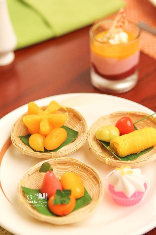 Kue Buah Mini Thailand at Bogor Cafe Hotel Borobudur by Myfunfoodiary