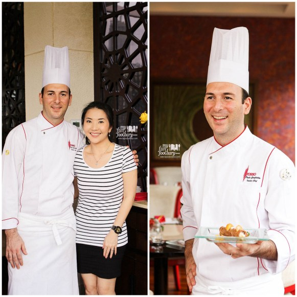 Mullie and Chef Paolo Gionfriddo at Rosso Shangri-La Jakarta by Myfunfoodiary