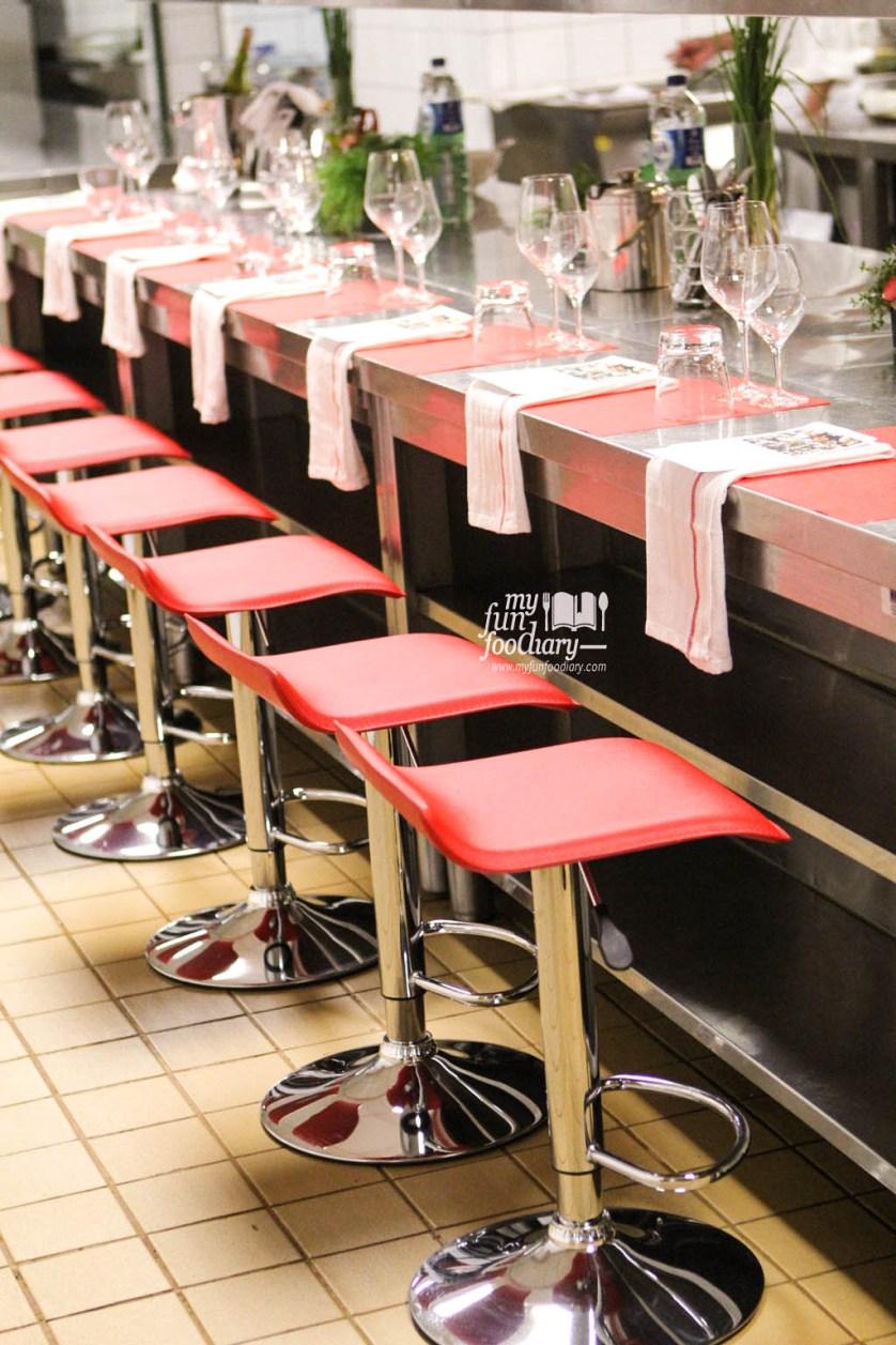 Suasana di Banquete Kitchen - Chef Table at Hilton Bandung by Myfunfoodiary