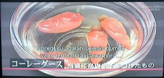 Taste of Hometown Koregusu by Myfunfoodiary at WakuWaku Japan TV