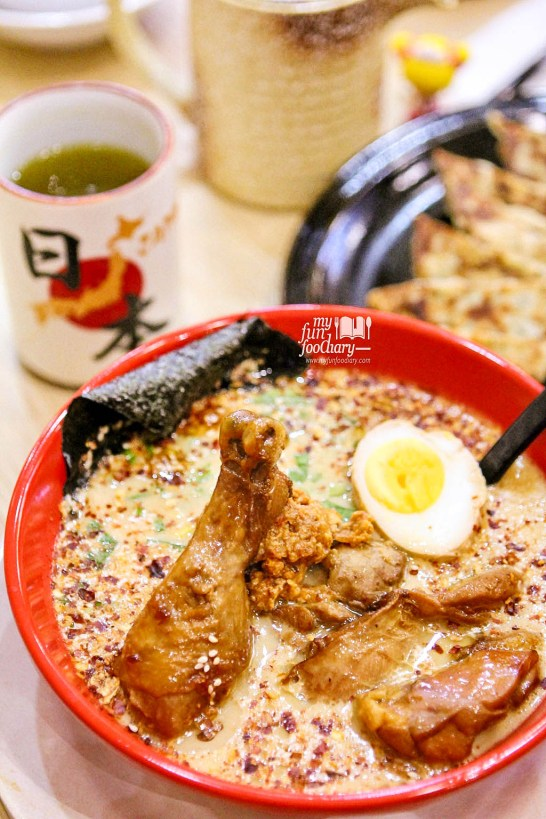 Tori Ramen Special Spicy Miso at Kazan Ramen Express Lotte Shopping Avenue by Myfunfoodiary