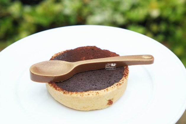 Chocolate Tart made by Kim Pangestu at Hyde Kemang - by Myfunfoodiary