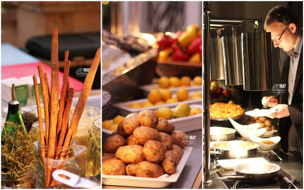 Food Station at JimBARan Outdoor Lounge Intercontinental MidPlaza by Myfunfoodiary