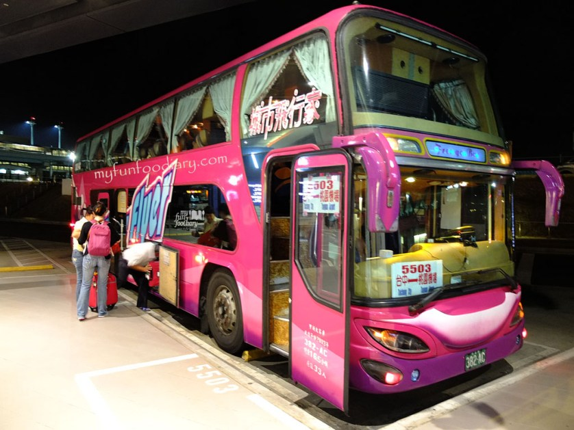 FreeGo Night Bus to Taichung - Myfunfoodiary