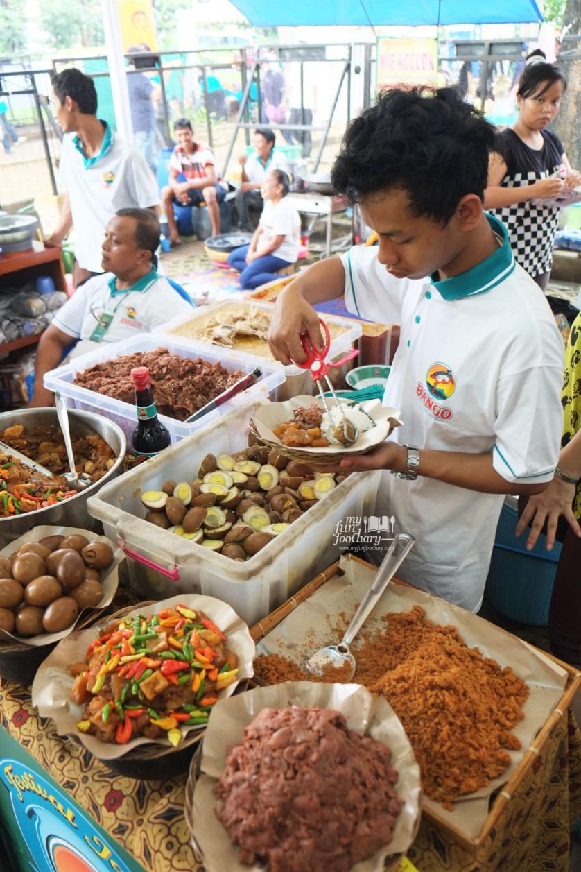 Gudeg Yogya Ibu Laminten Festival Jajanan Bango di Parkir Timur Senayan by Myfunfoodiary