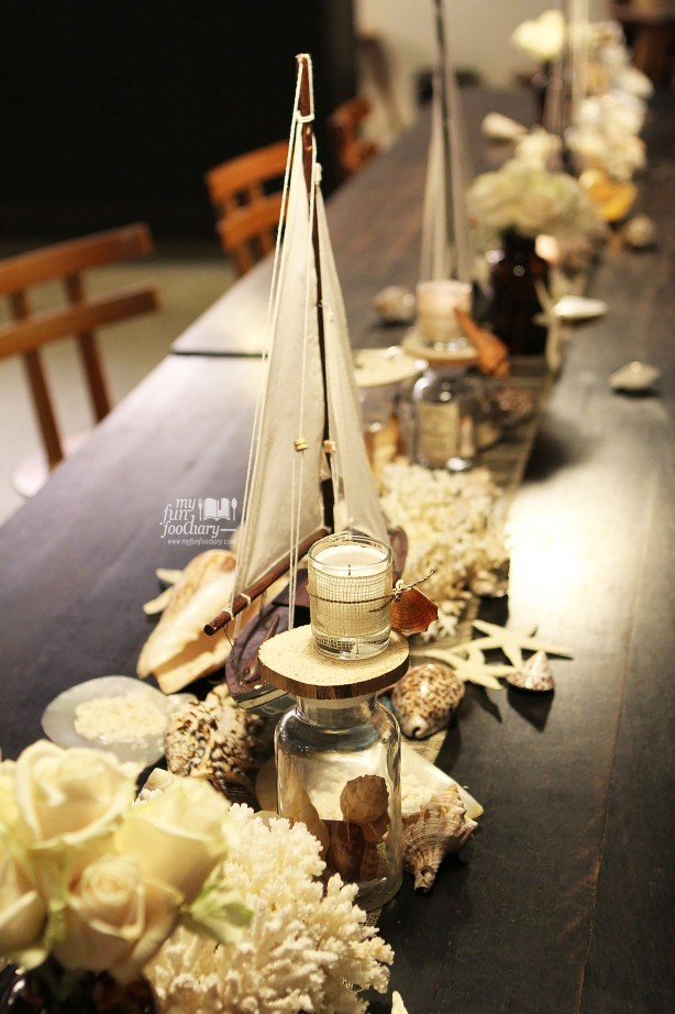 Ocean decorations at 1:15 Coffee for Real Food Concept by Myfunfoodiary 03
