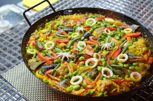 Paella de Mixta at Tapas Movida by Myfunfoodiary