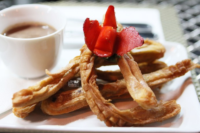Spanish Churros at Tapas Movida by Myfunfoodiary