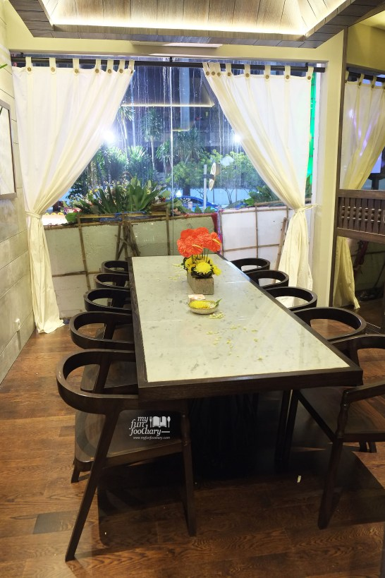 VIP Room at Bebek Tepi Sawah Citos - by Myfunfoodiary
