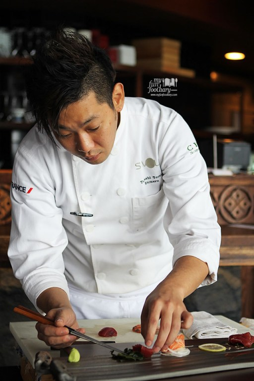 Chef Takashi Tomei at Enmaru Restaurant Altitude The Plaza by Myfunfoodiary