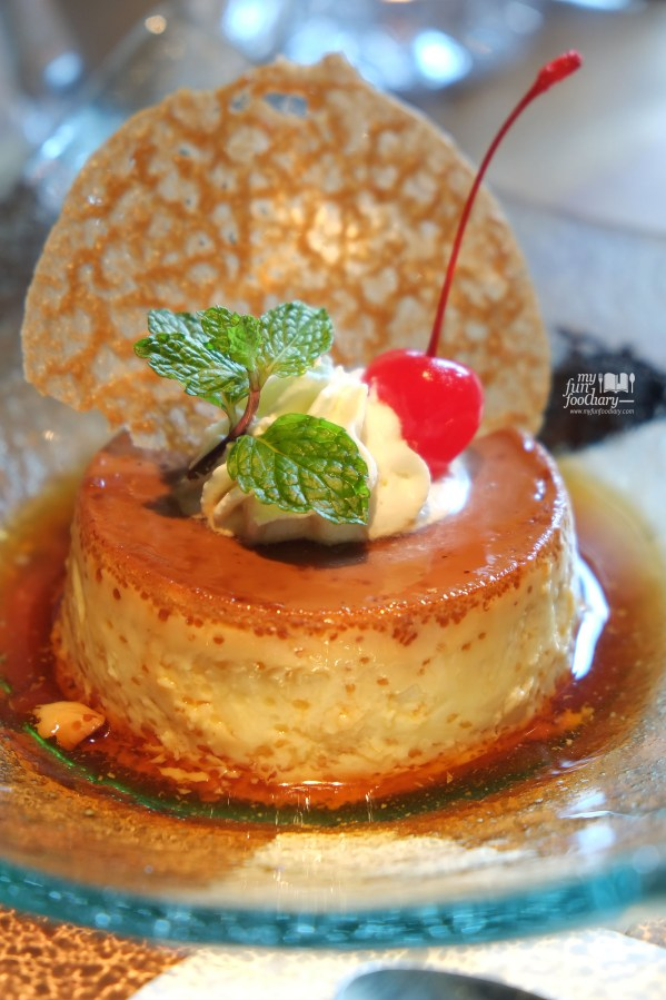 Cream Caramel at Balboni Ristorante by Myfunfoodiary