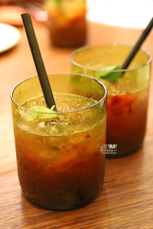 Mocktails of the Day at AW Kitchen by Akira Watanabe - by Myfunfoodiary