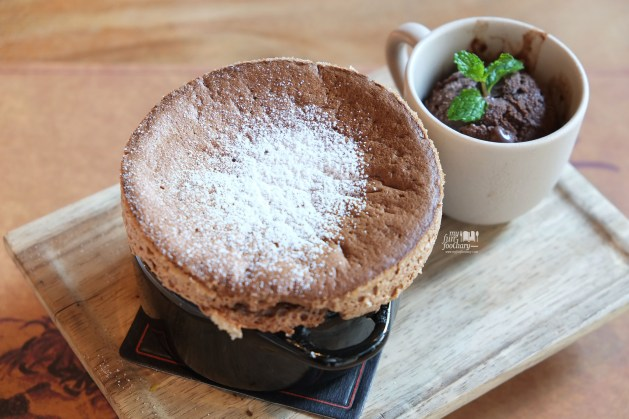 Souffle Chocolate at Balboni Ristorante by Myfunfoodiary