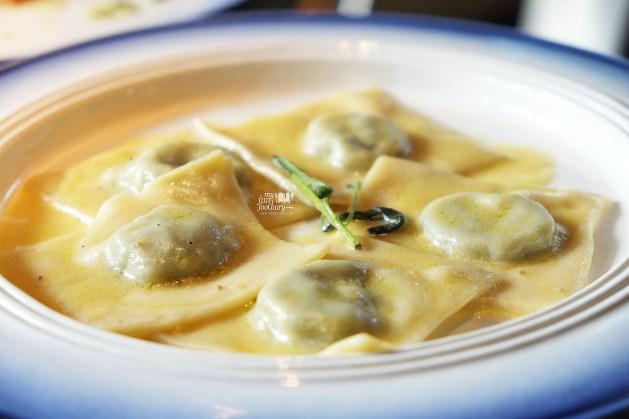 Tortelli Di Burro E Salvia at Balboni Ristorante by Myfunfoodiary