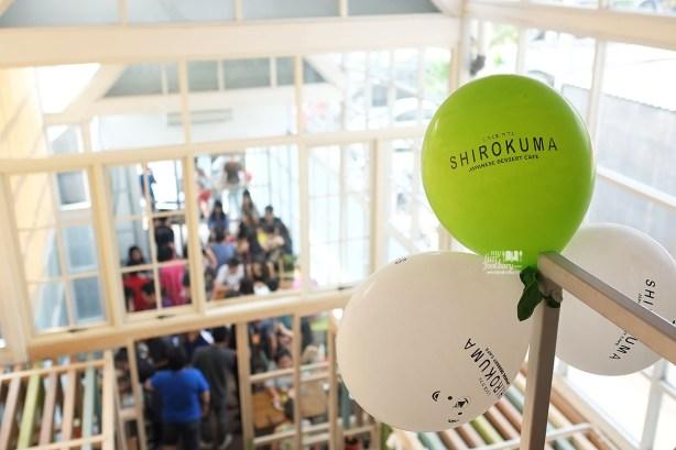 Baloons Shirokuma Japanese Dessert Cafe PIK by Myfunfoodiary