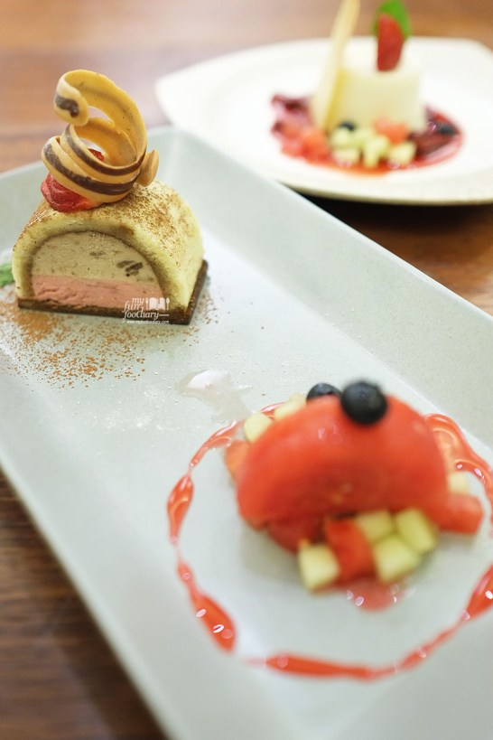 Banana and Strawberry Tiramisu at AW Kitchen by Akira Watanabe - by Myfunfoodiary 03