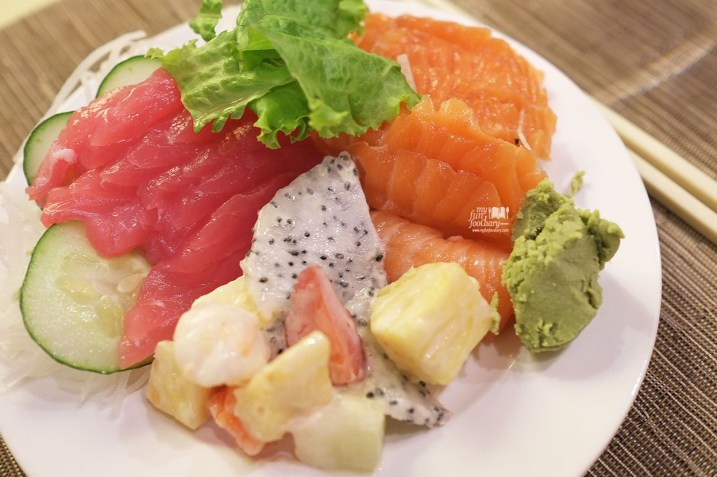Fresh Sashimi at Olam Restaurant JS Luwansa Hotel by Myfunfoodiary