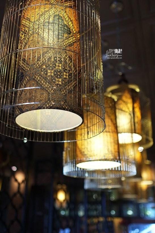 Lights at Pala Adas Indonesian Bistro PIK by Myfunfoodiary