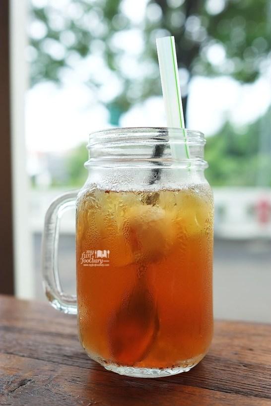 Lychee Ice Tea at Entrada Restobar by Myfunfoodiary