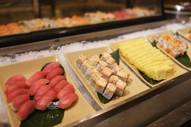 Sushi Variations at Sailendra Restaurant JW Marriott Jakarta by Myfunfoodiary