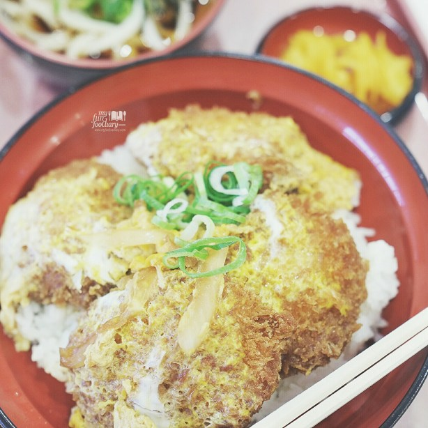 Close up Look for Pork Cutlet Bowls at Don Don Tei Restaurant by Myfunfoodiary