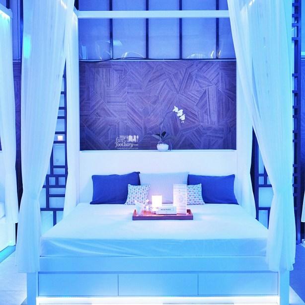 Comfort Bed at BLU Shangri-la Jakarta by Myfunfoodiary