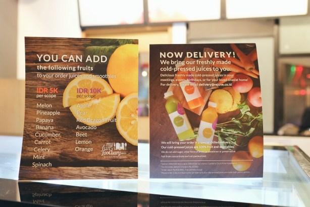 Customize Your Juice at Rejuve Kota Kasablanka by Myfunfoodiary