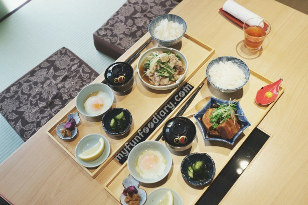 Our Lunch Set at Hyoki Restaurant by Myfunfoodiary