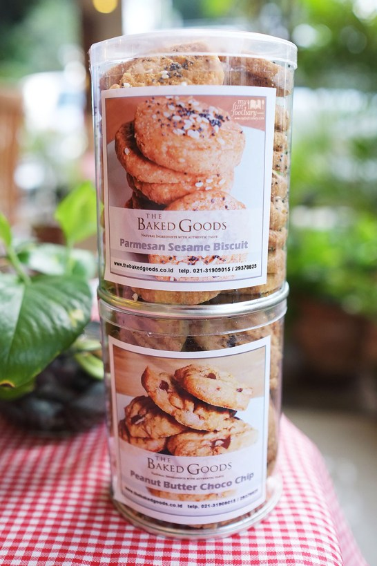 Parmesan Sesame Biscuit and Peanut Butter Choco Chip at The Baked Goods by Myfunfoodiary