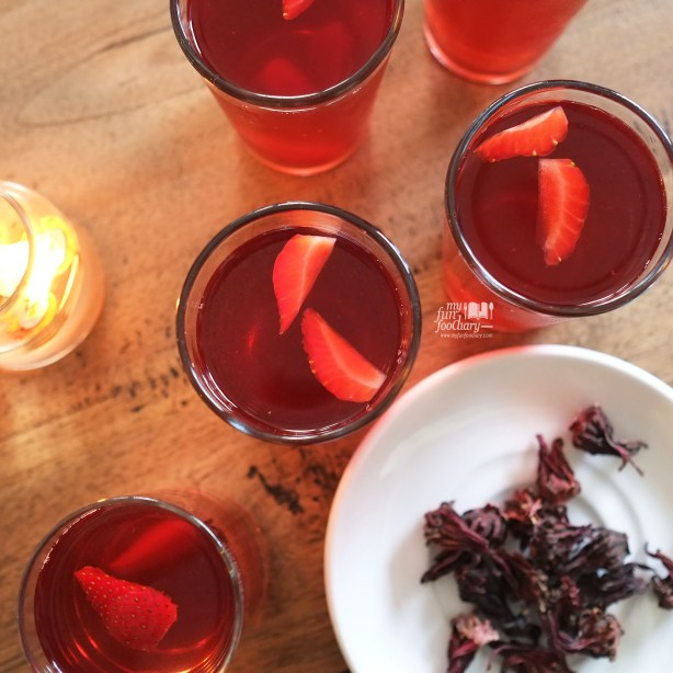 Rosella Tea at The Baked Goods - by Myfunfoodiary 02