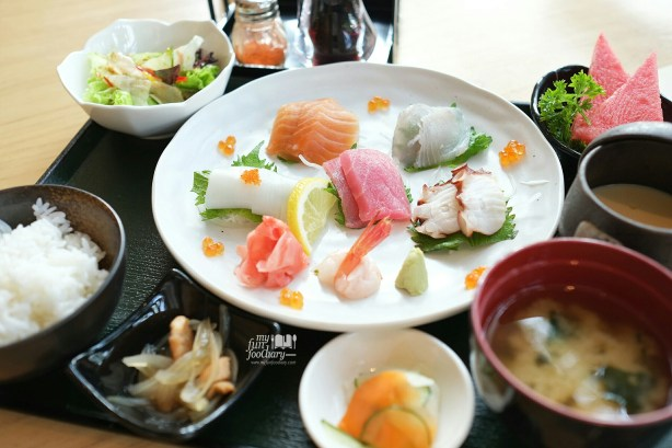 Sashimi Set at SAKE+ Senopati by Myfunfoodiary