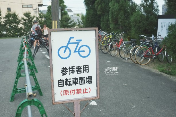 The Parking Lot special for Bicycle at Kinkaku-ji Temple by Myfunfoodiary