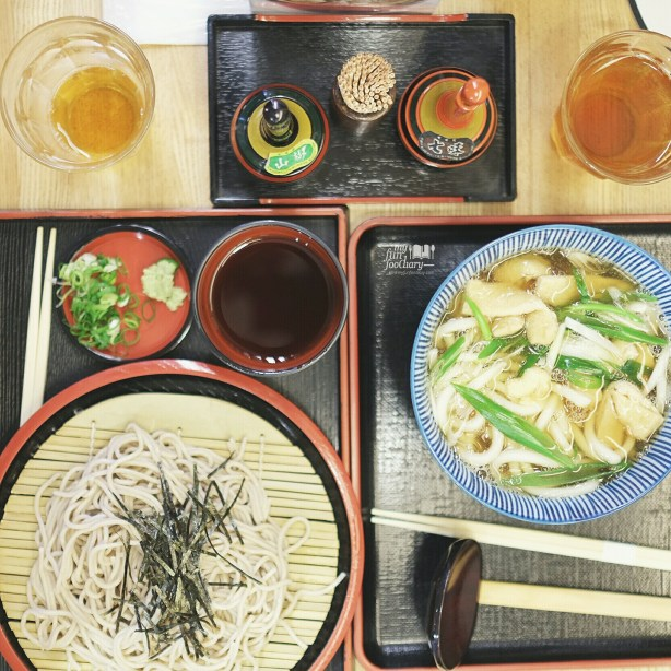 Cold Soba and Udon for Lunch at Kiyomizudera Temple by Myfunfoodiary