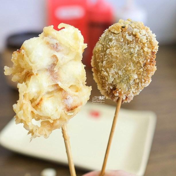 Fried Chikuwa Cheese and Salmon Cheese at Donburi Ichiya Lippo Mall Puri by Myfunfoodiary