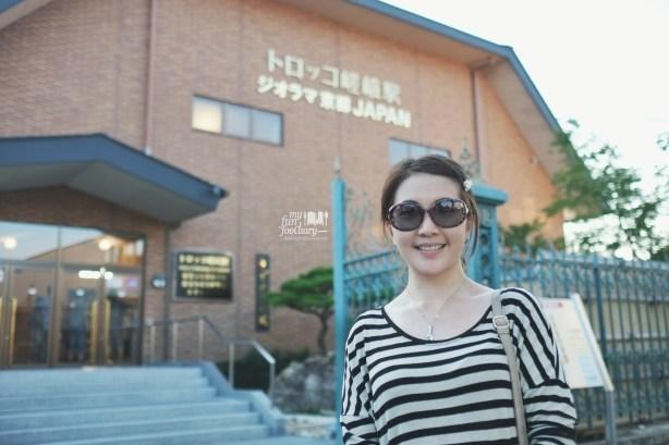 In Front of the Century Hall Arashiyama by Myfunfoodiary