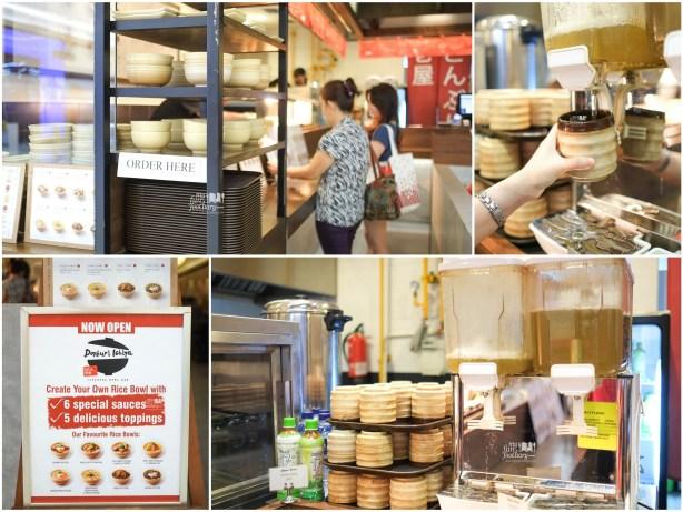 Order Process at Donburi Ichiya Lippo Mall Puri by Myfunfoodiary