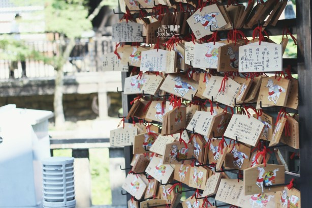 Prayer Message at Kiyomizudera Temple by Myfunfoodiary