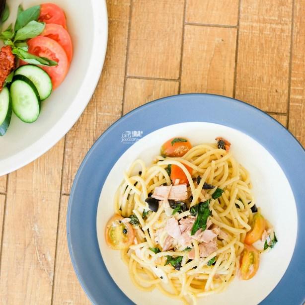 Spaghetti Cabe Rawit at Togo Cafe at WTC Sudirman by Myfunfoodiary