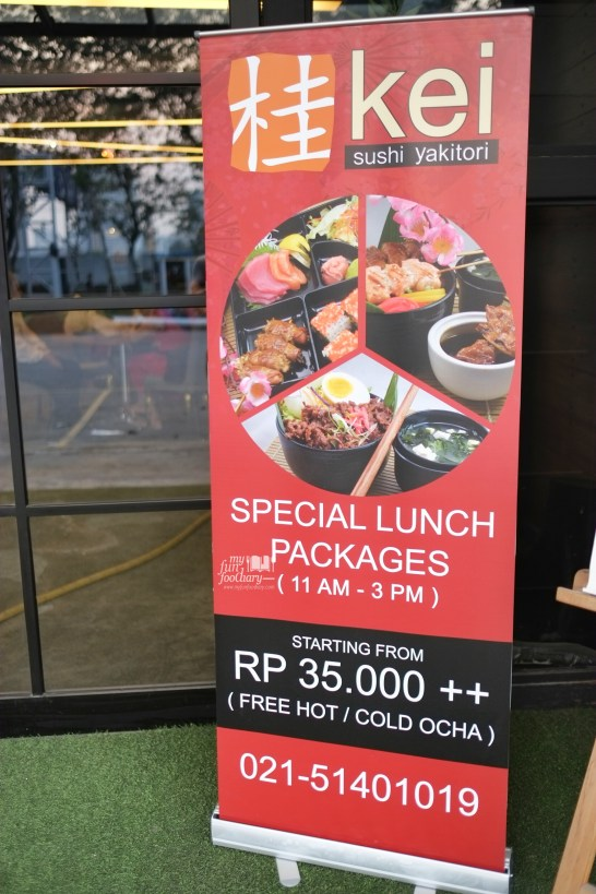 Special Lunch Promo at Kei Sushi SCBD by Myfunfoodiary