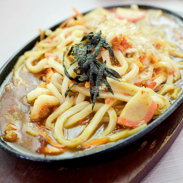 Spicy Seafood Udon Hotplate at Suntiang Restaurant by Myfunfoodiary