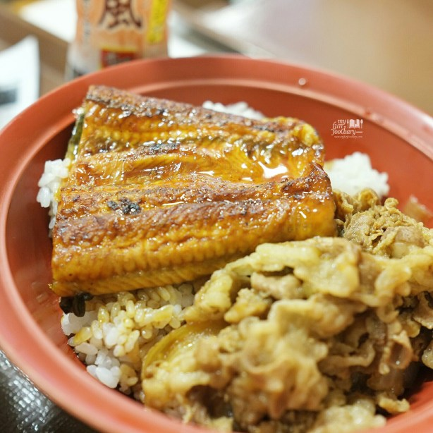 Unagi Don at Sukiya Gyudon Japan by Myfunfoodiary