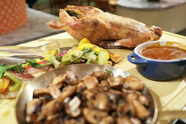 Whole Roasted Duck Nivernaise at Seasons Cafe by Myfunfoodiary