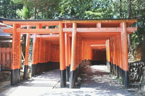 Senbon Torii Gates at Fushimi Inari Taisha