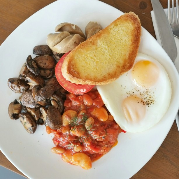 British Breakfast at Sukha Delights in Bandung by Myfunfoodiary