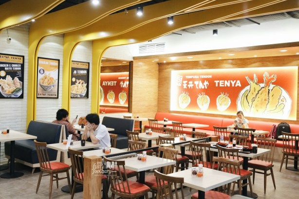 Ambience inside the restaurant - at Tenya Tendon Grand Indonesia by Myfunfoodiary
